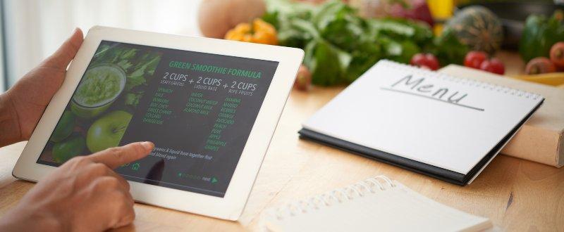 Digitalizar cartas de restaurantes